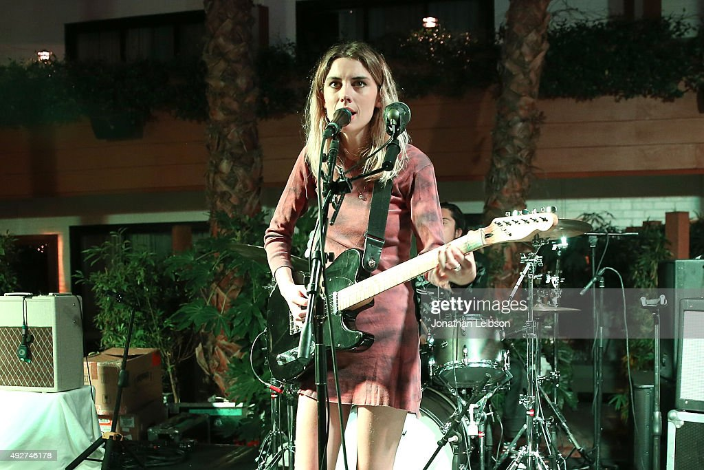 Wolf Alice performs at the Flaunt Magazine And AG Celebrate The LA launch Of The CALIFUK Issue At The Hollywood Roosevelt at Hollywood Roosevelt Hotel on October 14, 2015 in Hollywood, California.
