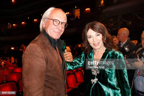 Wolf Bauer and Iris Berben attend the First Steps Award 2017 at Stage Theater on September 18 2017 in Berlin Germany