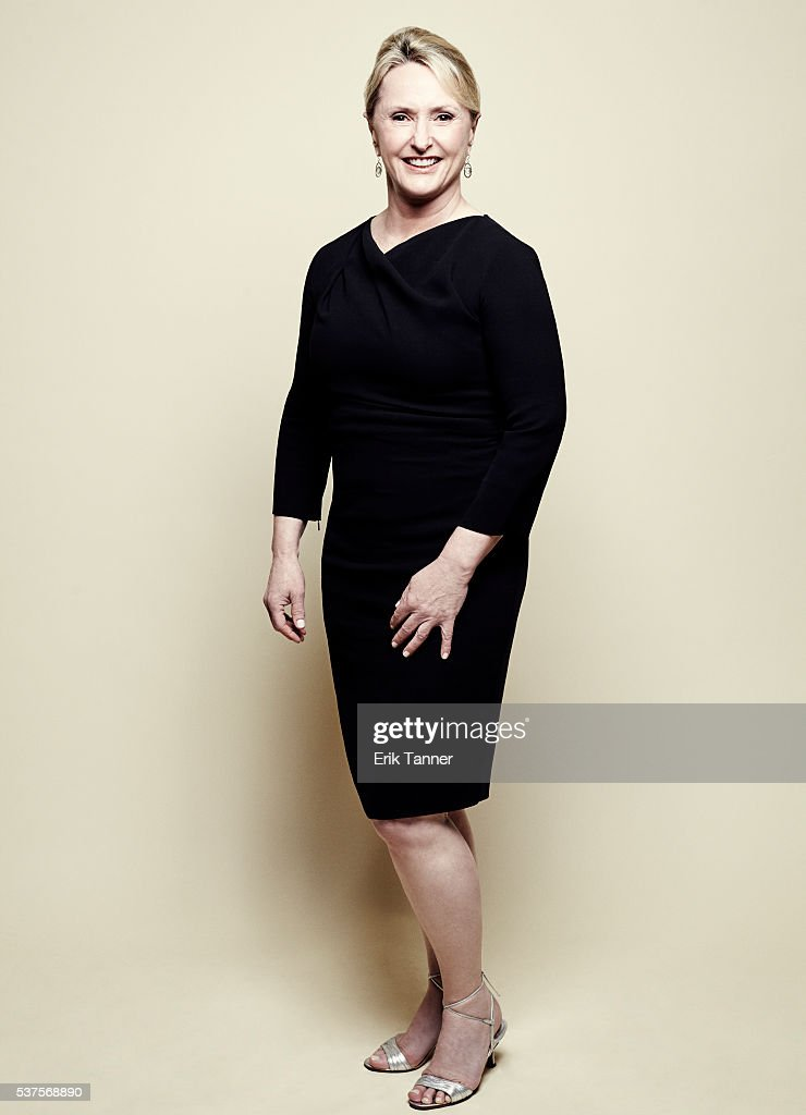 'Wolf Hall' producer Susanne Simpson poses for a portrait at the 75th Annual Peabody Awards Ceremony at Cipriani Wall Street on May 21 2016 in New...