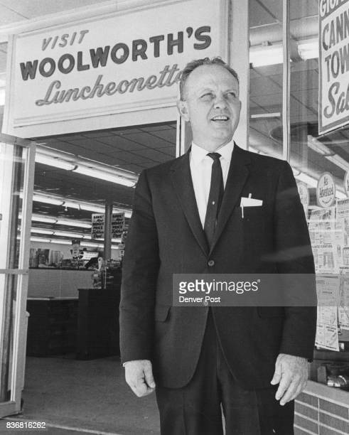 C Wolf mgr at Woolworth's Credit Denver Post
