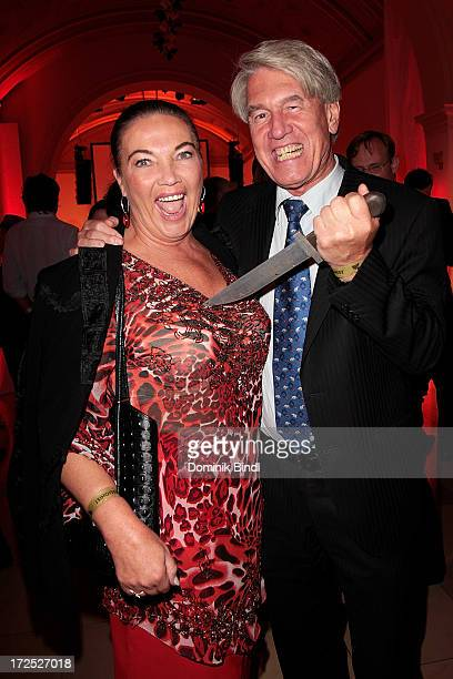 WolfDieter Ring and his wife Silvia attend the Shocking Shorts Award at Galerie der Kuenstler on July 2 2013 in Munich Germany