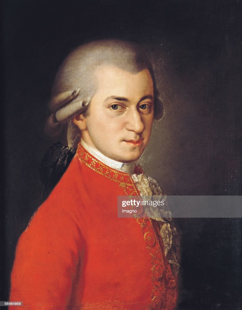 <a gi-track='captionPersonalityLinkClicked' href=/galleries/search?phrase=Wolfgang+Amadeus+Mozart&family=editorial&specificpeople=79910 ng-click='$event.stopPropagation()'>Wolfgang Amadeus Mozart</a>. 1819. Canvas by Barbara Krafft (1764-1825). (Photo by Imagno/Getty Images) [<a gi-track='captionPersonalityLinkClicked' href=/galleries/search?phrase=Wolfgang+Amadeus+Mozart&family=editorial&specificpeople=79910 ng-click='$event.stopPropagation()'>Wolfgang Amadeus Mozart</a>. 1819. Gemaelde von Barbara Krafft (1764-1825).]