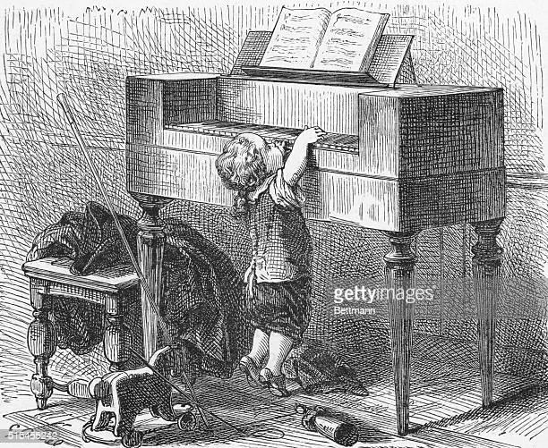 Wolfgang Amadeus Mozart Austrian composer The infant musician