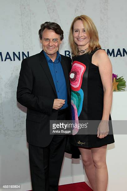 Wolfgang Bahro and Barbara Bahro attend the Bertelsmann Summer Party at the Bertelsmann representative office on September 10 2014 in Berlin Germany