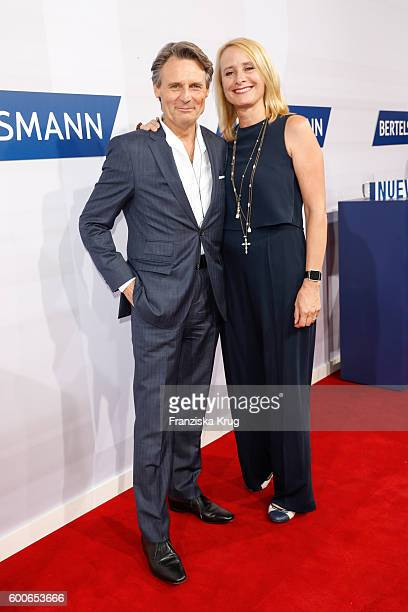 Wolfgang Bahro and his wife Barbara Bahro attend the Bertelsmann Summer Party at Bertelsmann Repraesentanz on September 8 2016 in Berlin Germany