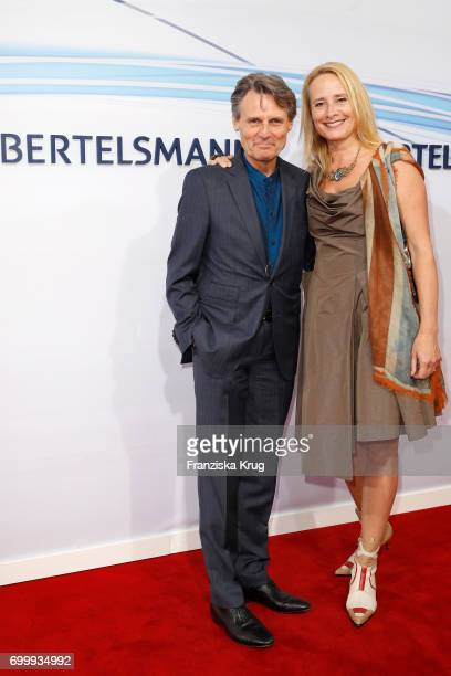 Wolfgang Bahro and his wife Barbara Bahro attend the 'Bertelsmann Summer Party' at Bertelsmann Repraesentanz on June 22 2017 in Berlin Germany