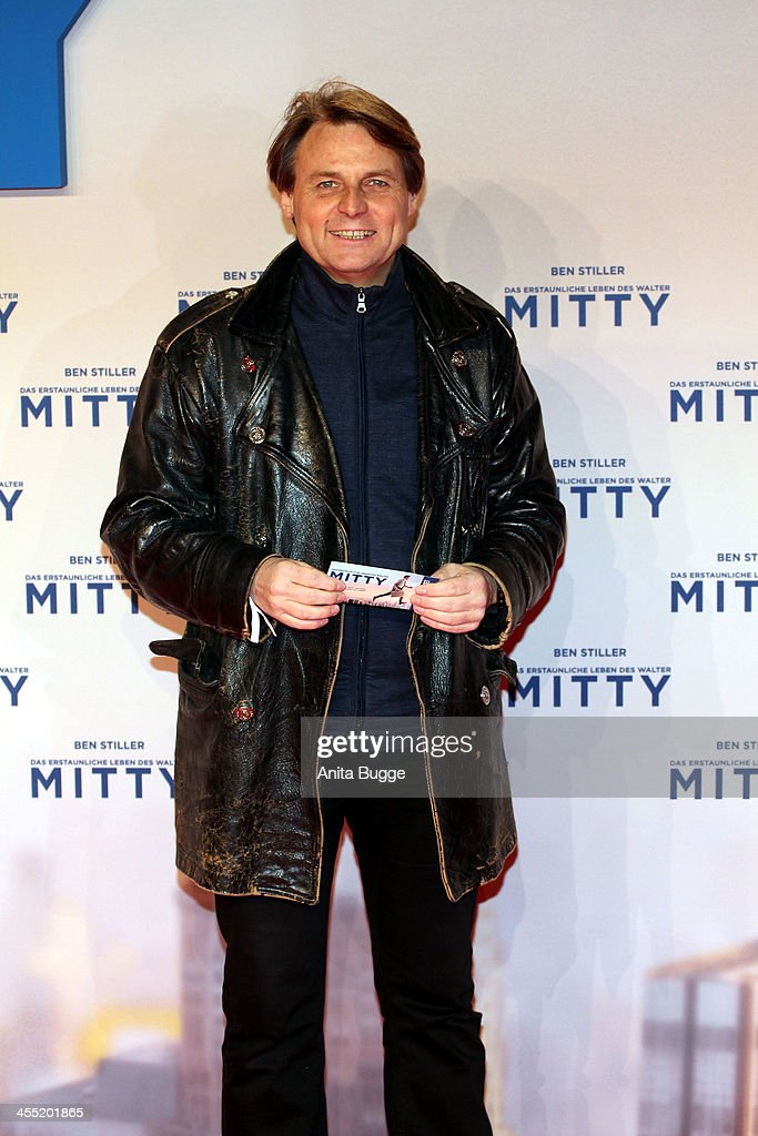 Wolfgang Bahro attends the German premiere of the film 'The Secret Life Of Walter Mitty' (Das erstaunliche Leben des Walter Mitty) at Zoo Palast on December 11, 2013 in Berlin, Germany.