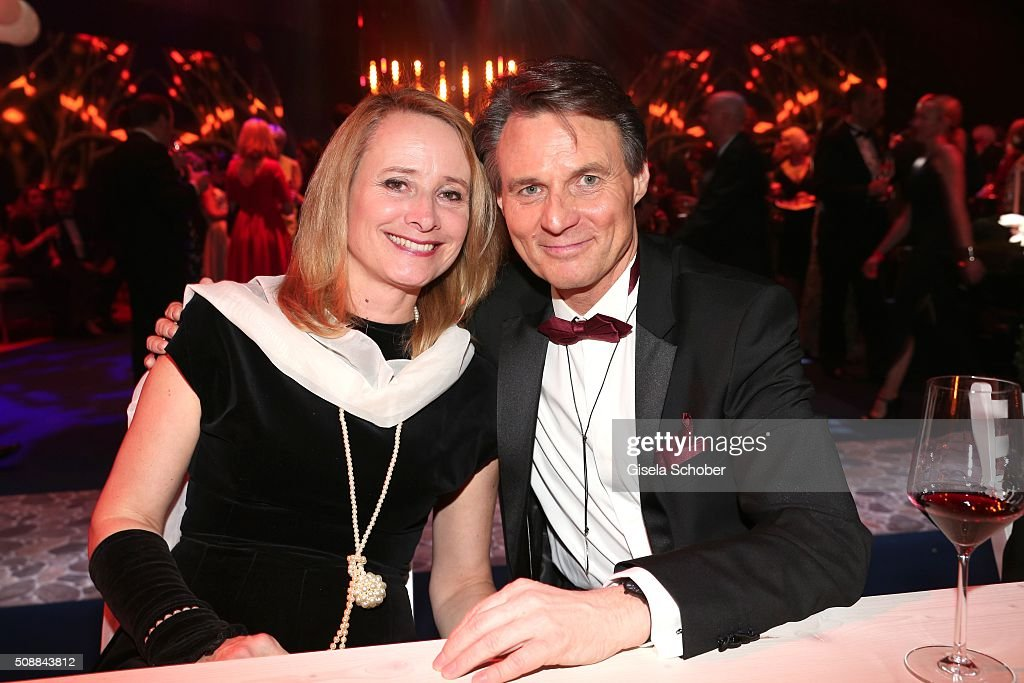 Wolfgang Bahro, GZSZ and his wife Barbara Bahro during the after show party of the Goldene Kamera 2016 on February 6, 2016 in Hamburg, Germany.