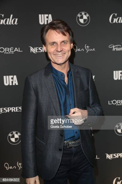 Wolfgang Bahro GZSZ during the Berlin Opening Night by GALA and UFA Fiction on February 9 2017 in Berlin Germany