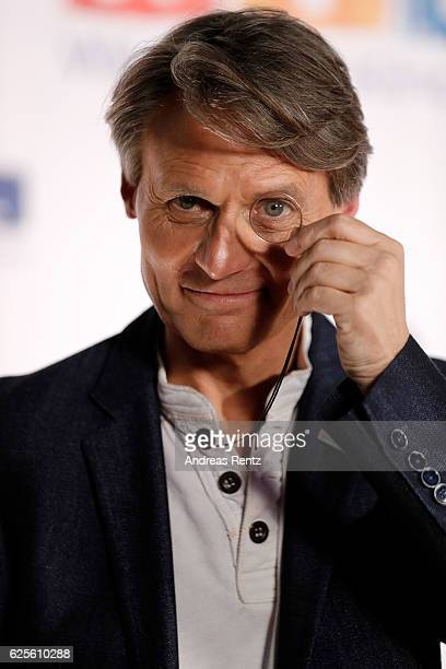 Wolfgang Bahro is seen in the studio of the RTL Telethon TV show on November 24 2016 in Cologne Germany The telethon is held every year and is on air...