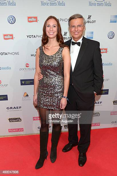 Wolfgang Bosbach and daughter Caroline attend networking event 'Movie meets Media' at Hotel Atlantic on December 2 2013 in Hamburg Germany