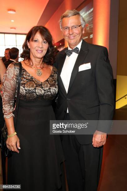 Wolfgang Bosbach and his wife Sabine Bosbach during the Toni Kroos charity gala benefit to the Toni Kroos Foundation at 'The Palladium' on June 9...