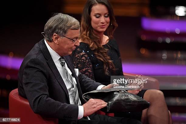 Wolfgang Bosbach attends the television show 2016 Menschen Bilder Emotionen RTL Jahresrueckblick on December 4 2016 in Cologne Germany