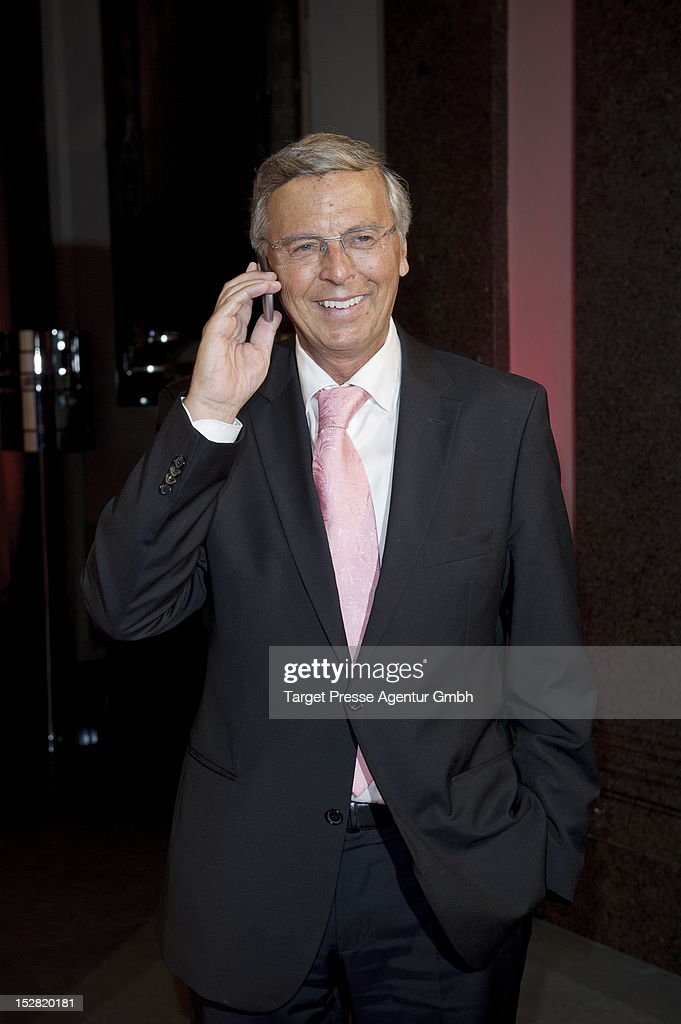 Wolfgang Bosbach attends the Vodafone Night at Hotel de Rome on September 26, 2012 in Berlin, Germany.