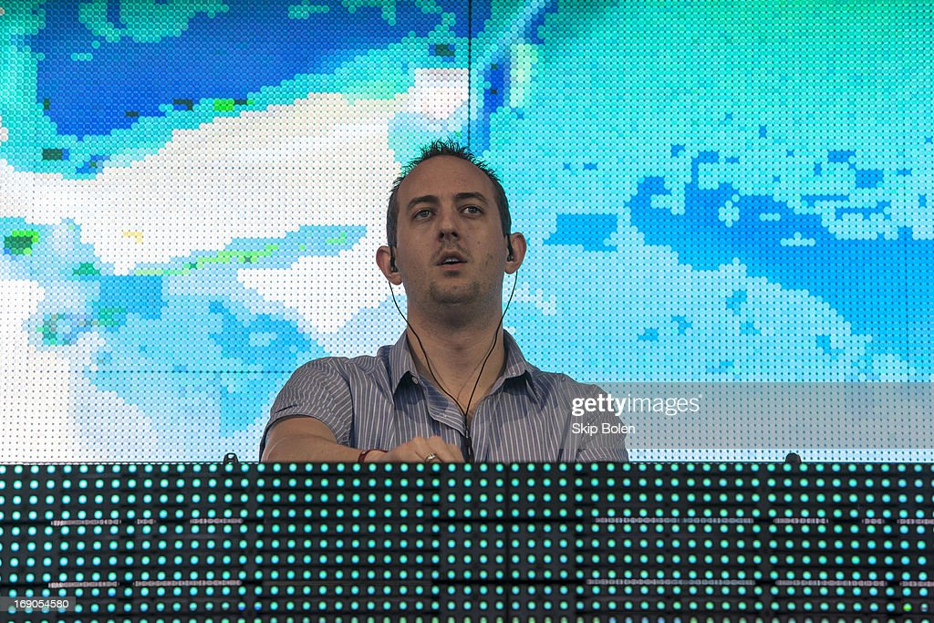 Wolfgang Gartner performs during the 2013 Hangout Music Festival on May 18, 2013 in Gulf Shores, Alabama.