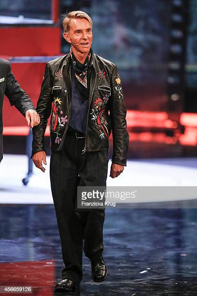 Wolfgang Joop attends Wetten dass from Erfurt on October 04 2014 in Erfurt Germany