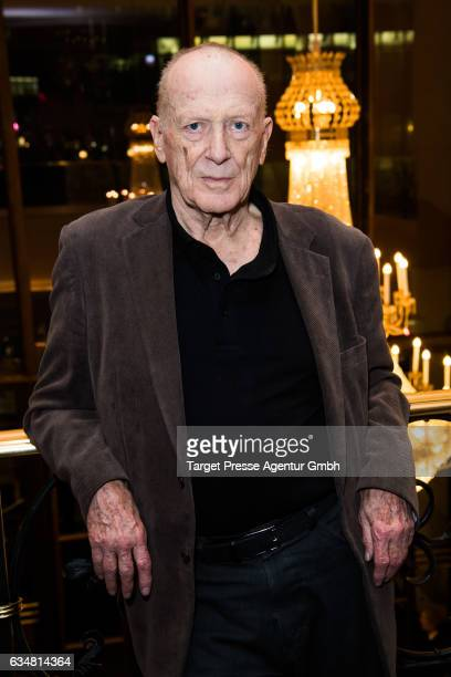 Wolfgang Kohlhaase attends the Medienboard BerlinBrandenburg Reception during the 67th Berlinale International Film Festival Berlin at on February 11...