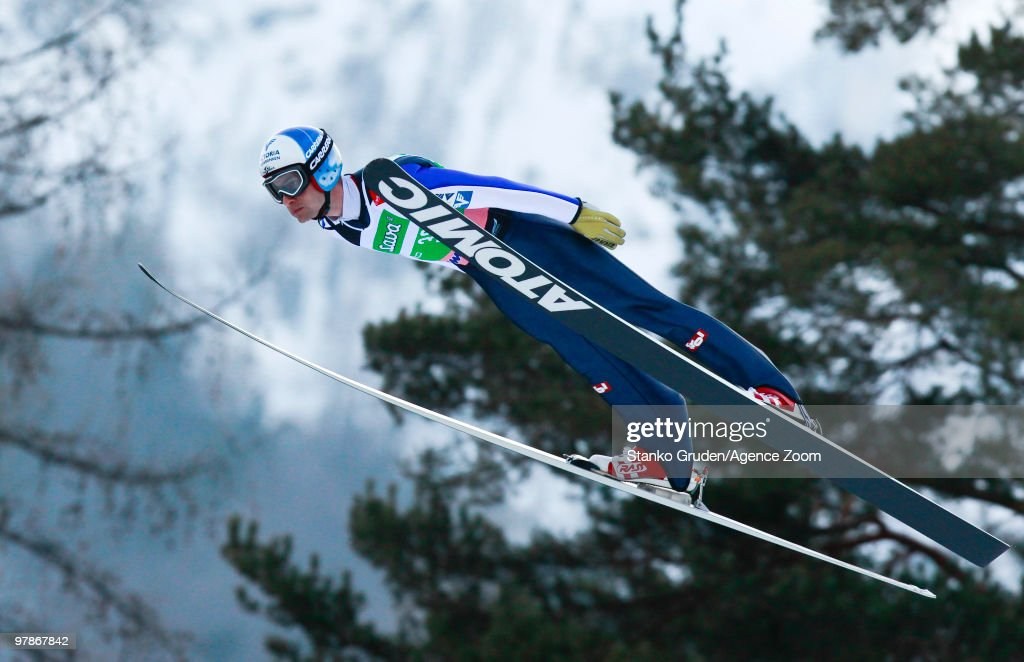 <a gi-track='captionPersonalityLinkClicked' href=/galleries/search?phrase=Wolfgang+Loitzl&family=editorial&specificpeople=2139272 ng-click='$event.stopPropagation()'>Wolfgang Loitzl</a> of Austria jumps during the FIS Ski Flying World Championships, Day 1 HS215 on March 19, 2010 in Planica, Slovenia.