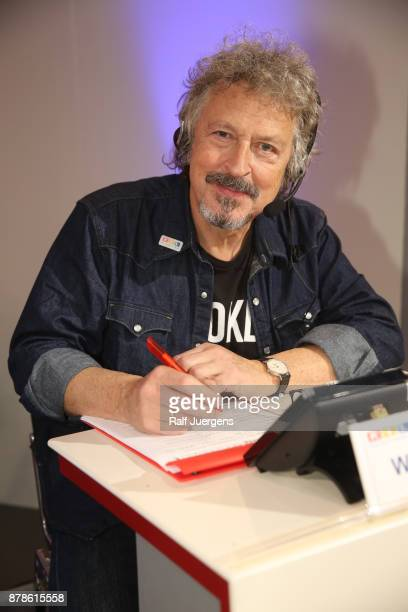 Wolfgang Niedecken attends the 22nd RTL Telethon on November 24 2017 in Huerth Germany