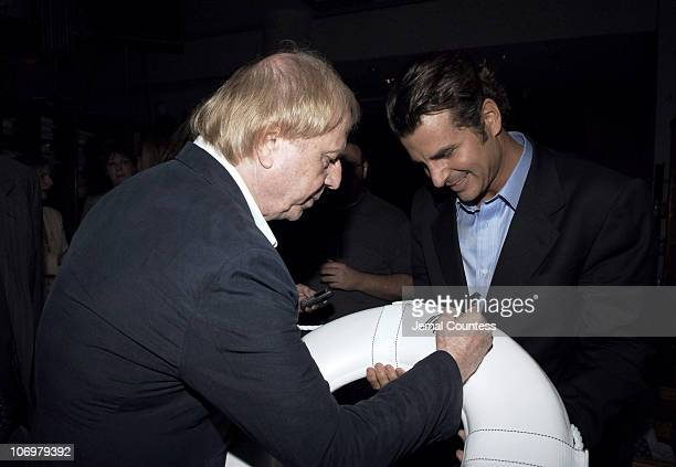 Wolfgang Petersen and Vincent De Paul during GQ and Men's Clothing Designer Ike Behar Host the 'Poseidon' Afterparty at Barneys at Barneys New York...