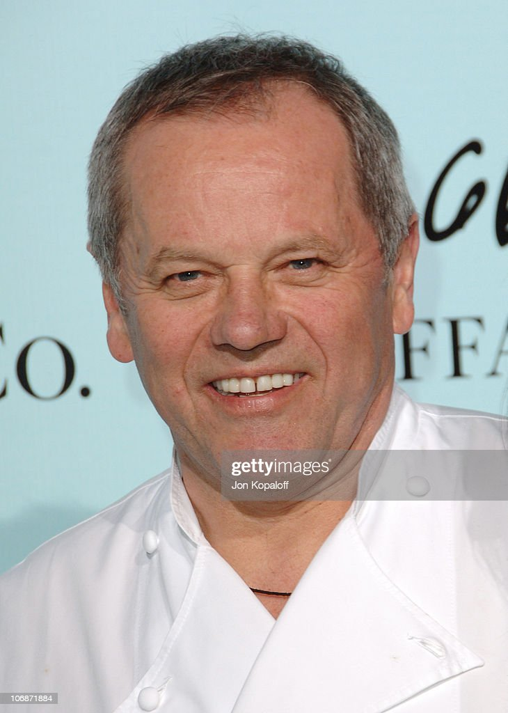 <a gi-track='captionPersonalityLinkClicked' href=/galleries/search?phrase=Wolfgang+Puck&family=editorial&specificpeople=157523 ng-click='$event.stopPropagation()'>Wolfgang Puck</a> during Tiffany & Co. Celebrates The Launch Of Frank Gehry's Premiere Collection On Rodeo Drive - Arrivals at Tiffany & Co. in Beverly Hills, California, United States.