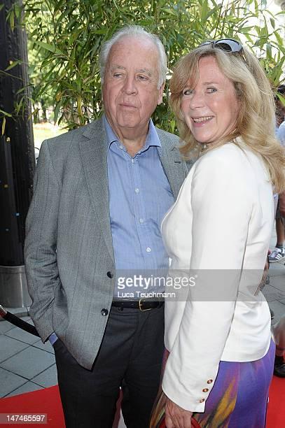 Wolfgang Rademann and Marion Kracht attend the 'Sommerfest Der Agenturen' at Hugo's on June 30 2012 in Munich Germany