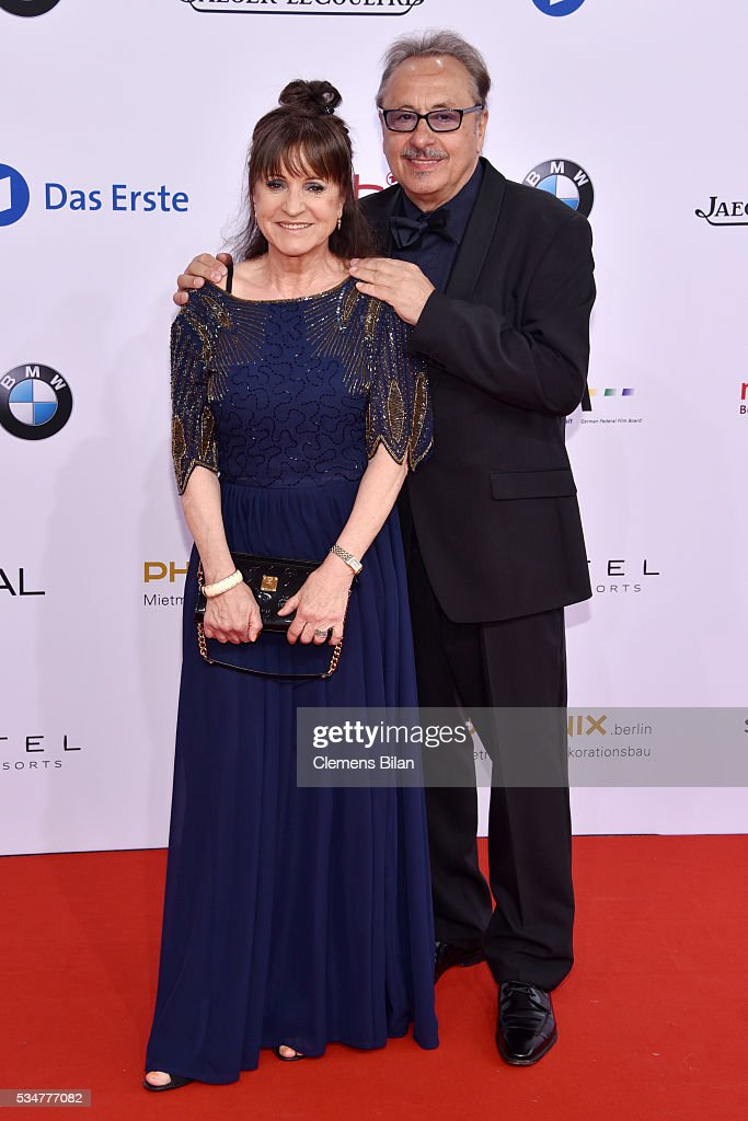 Wolfgang Stumph and Christine Stumph attend the Lola - German Film Award (Deutscher Filmpreis) on May 27, 2016 in Berlin, Germany.