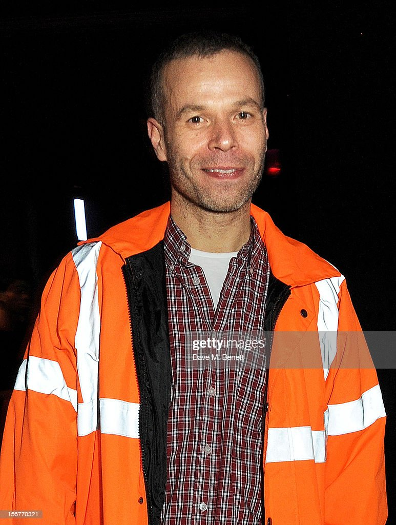 Wolfgang Tillmans attends the launch of House of Voltaire, the new pop-up shop from acclaimed London art space Studio Voltaire, at Sketch on November 20, 2012 in London, England.