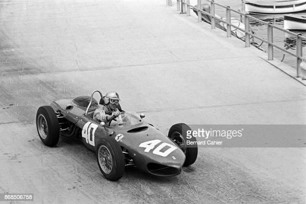 Wolfgang von Trips Ferrari 156 Sharknose Grand Prix of Monaco Circuit de Monaco 14 May 1961