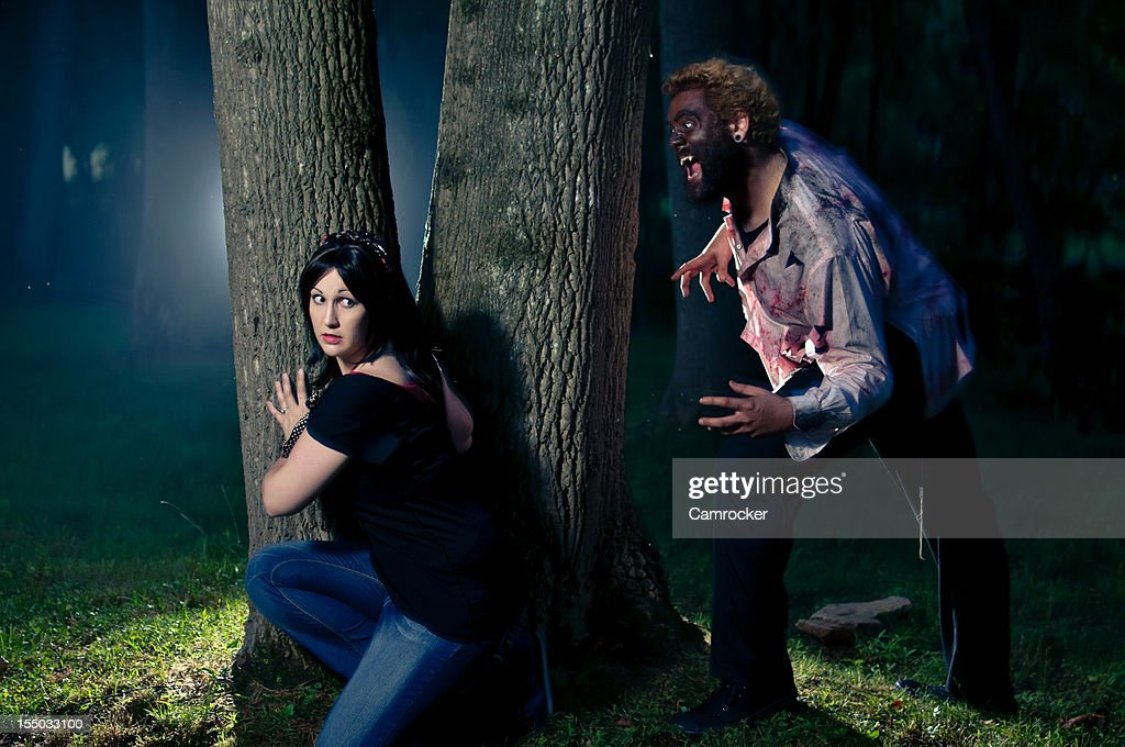 Wolfman Attack : Stock Photo