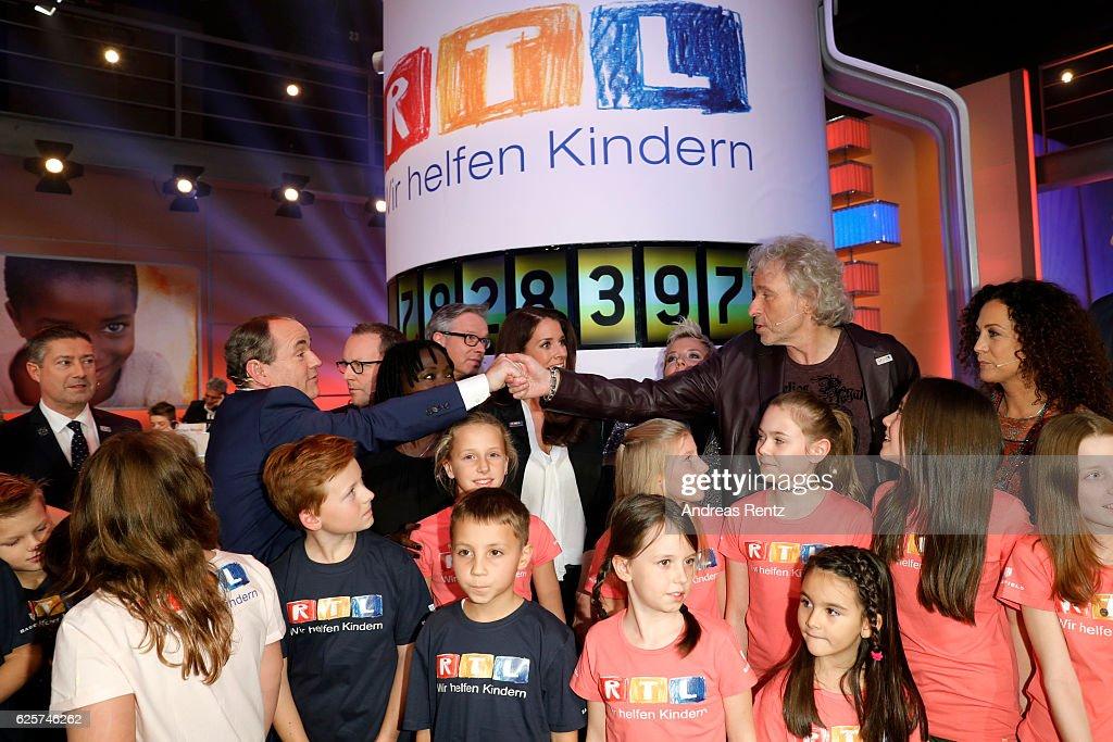 RTL Telethon In Cologne