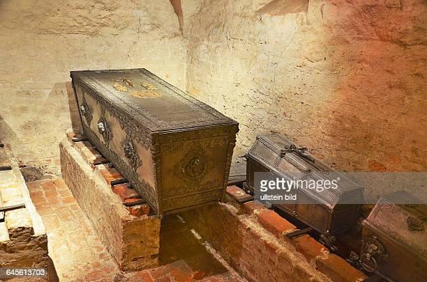 Wolgast Sarkophag der Herzogin SophiaHedwig in der StPetriKirche