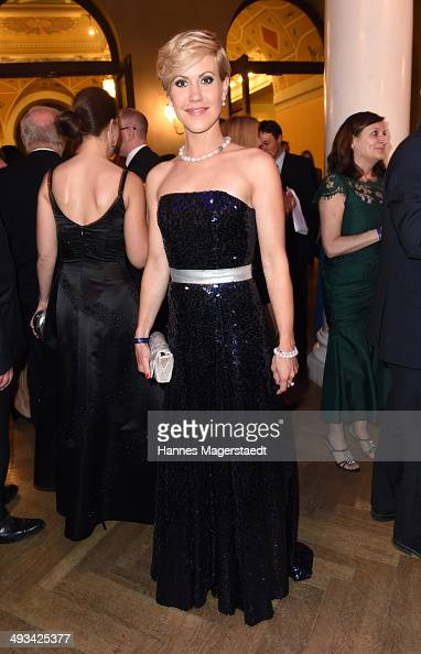 Wolke Alma Hegenbarth attends the 'Bayerischer Fernsehpreis 2014' at Prinzregententheater on May 23 2014 in Munich Germany