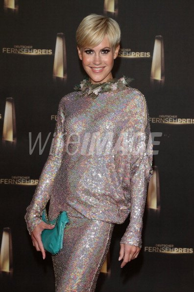 Wolke Hegenbarth Arrives For The German Tv Award 2012 At