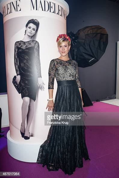 Wolke Hegenbarth attends Madeleine at Goldene Henne 2014 on October 10 2014 in Leipzig Germany