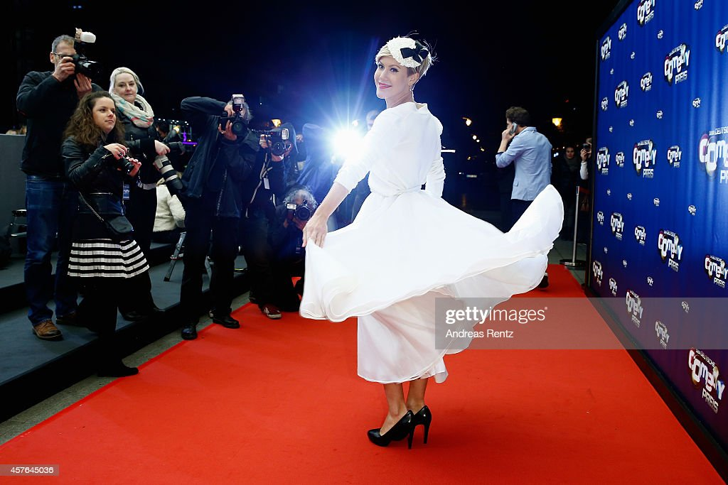 Wolke Hegenbarth attends the 18th Annual German Comedy Awards at Coloneum on October 21 2014 in Cologne Germany The show will be aired on RTL on...