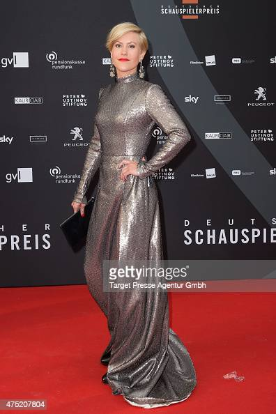 Wolke Hegenbarth attends the 'Deutscher Schauspielerpreis 2015' at Zoopalast on May 29 2015 in Berlin Germany