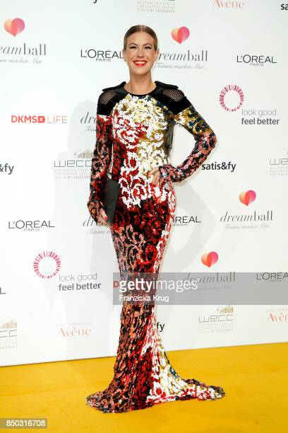 Wolke Hegenbarth attends the Dreamball 2017 at Westhafen Event Convention Center on September 20 2017 in Berlin Germany