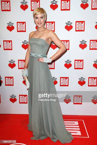 Wolke Hegenbarth attends the 'Ein Herz Fuer Kinder Gala 2012' on December 15 2012 in Berlin Germany