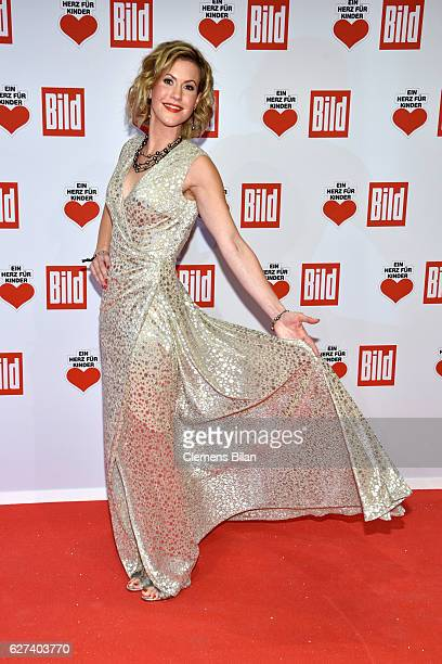 Wolke Hegenbarth attends the Ein Herz Fuer Kinder Gala 2016 on December 3 2016 in Berlin Germany
