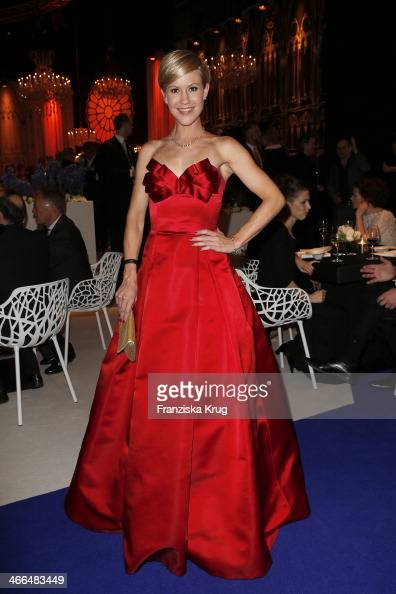 Wolke Hegenbarth attends the Goldene Kamera 2014 at Tempelhof Airport on February 01 2014 in Berlin Germany