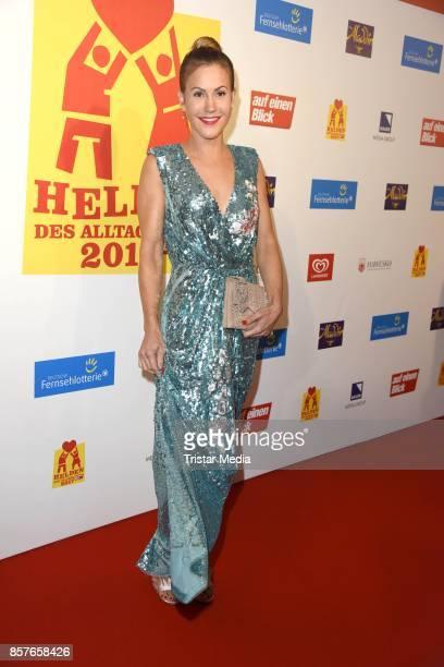 Wolke Hegenbarth attends the 'Helden des Alltags' Gala at Theater Kehrwieder on October 4 2017 in Hamburg Germany