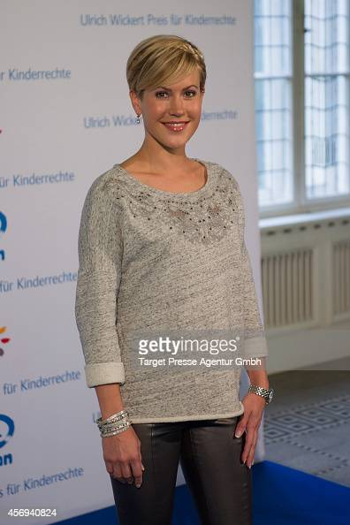 Wolke Hegenbarth attends the Ulrich Wickert Award for children's rights at Hamburger Bahnhof on October 9 2014 in Berlin Germany