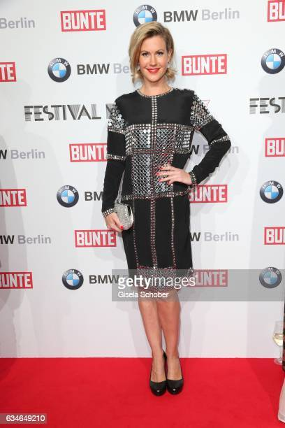 Wolke Hegenbarth during the BUNTE BMW Festival Night during the 67th Berlinale International Film Festival Berlin at restaurant 'Gendarmerie' on...