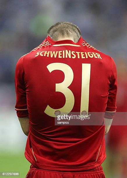 wollt sich nur noch verstecken Bastian SCHWEINSTEIGER FC Bayern München nach dem verschossen Elfmeter Fussball Championsleague Fussball...