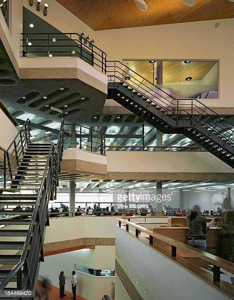Wolverhampton University It Complex United Kingdom Architect Building Design Partnership Interior