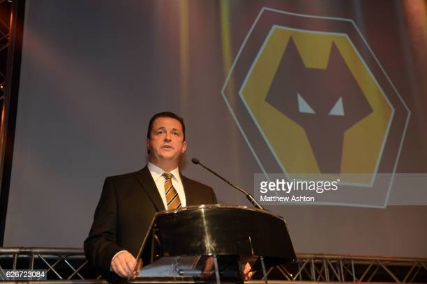 Wolverhampton Wanderers 2014 End of Season Dinner Wolverhampton Wanderers chief Executive Jez Moxey