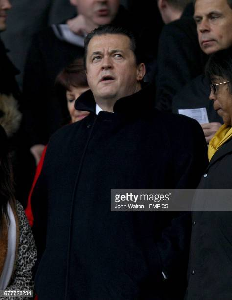 Wolverhampton Wanderers chief executive Jez Moxey in the stands
