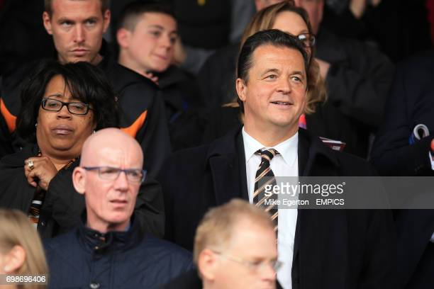 Wolverhampton Wanderers' Chief Executive Jez Moxey in the stands