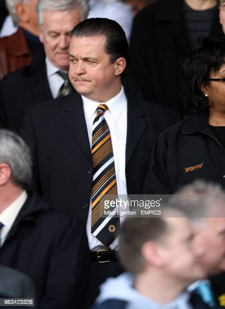 Wolverhampton Wanderers' chief executive Jez Moxey